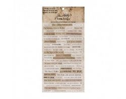 TH93583 - Tim Holtz® - Ideaology™ - Papiere - Clipping Stickers